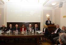 Τιμητική εκδήλωση του ΔΣΑ για τον πρώην Πρόεδρό του, Ευάγγελο Γιαννόπουλο