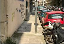 Χωροθέτηση θέσεων στάθμευσης δικύκλων στο Εφετείο και το Ειρηνοδικείο Αθηνών