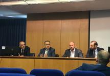 Κοινή συνέντευξη Τύπου των προέδρων του ΔΣΑ, του Οικονομικού και του Τεχνικού Επιμελητηρίου για το Ασφαλιστικό