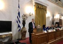 Ομιλία του Προέδρου του ΔΣΑ, Δημήτρη Βερβεσού στην εκδήλωση για την Ημέρα της Δικαιοσύνης (3/10)
