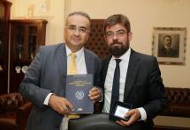 Επίσκεψη του νέου Υπουργού Δικαιοσύνης, Μιχάλη Καλογήρου στον ΔΣΑ